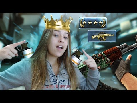 A RAINHA DAS SMOKES  - CS:GO COMPETITIVO !