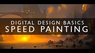 Digital Painting Basics - Introduction To Speed Painting