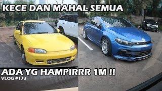 BERAPA HARGA MOBIL ANAK UPH ? SCIROCCO, ESTILO, BMW :D | CARVLOG #173