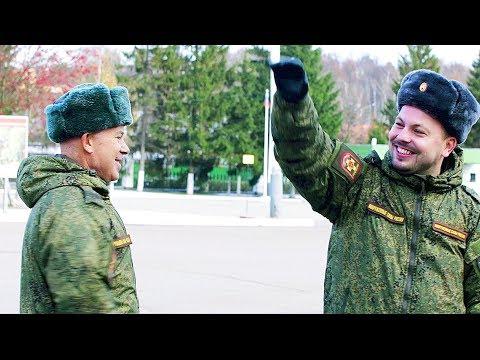 О.Газманов и Я.Сумишевский - ГРАНДИОЗНЫЙ ФЛЕШМОБ В АРМИИ! СУПЕР! БРАВО