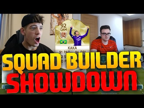 OMG LEGEND KAKA SQUAD BUILDER SHOWDOWN!!! - Fifa 16 Ultimate Team