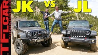 Old vs New Off-Road Review: Which Jeep Wrangler Is The One to Buy?