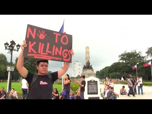 Thousands gather at Rizal Park for 'End Tyranny' rally