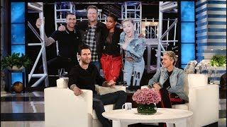 Adam Levine Gripes About Blake Shelton and Gwen Stefani's PDA