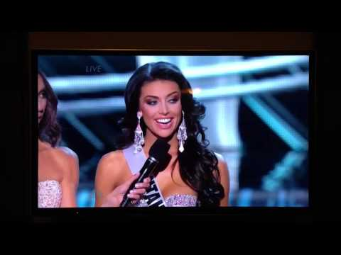 2013 Miss Utah final question answer. WTF?