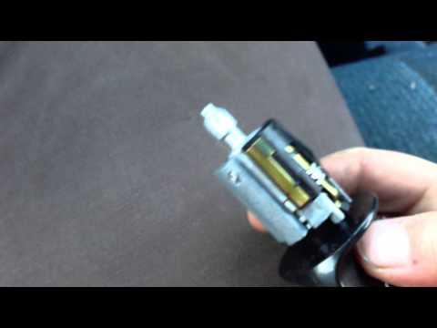 replacing ford f150 key lock cylinder