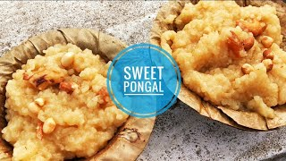 Pongal celebration | sweet pongal recipe | Chef's Unknown Kitchen