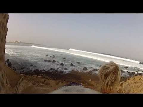 Glassy days at the NGor Island right in Dakar - Senegal - West Africa. 4 ft. 14 sec and no wind for days creating perfect conditions for the surf spot. 6 - 7 of March 2012 Uploaded by http://www.gosurf.dk