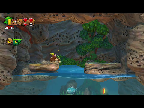 DONKEY KONG COUNTRY TROPICAL FREEZE - Gameplay do Início!