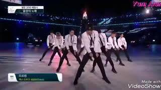 250218 EXO - Growl (Pyeongchang Olympics Closing Ceremony 2018)
