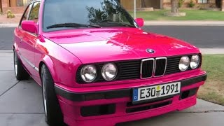 DIY: VIRTUAL MODIFIED BMW E30 - Easily change your vehicle colors
