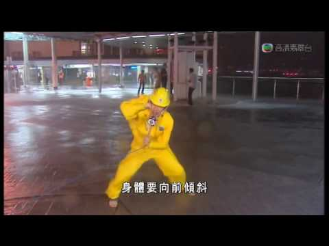 Typhoon Molave No.9 Signal Strike in Hong Kong �港