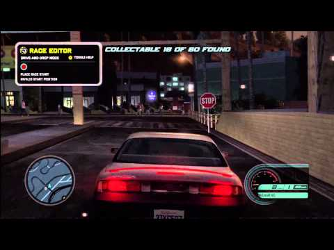 Acura  Diego on Midnight Club La Complete Edition   Get All 60 Collectibles Walk