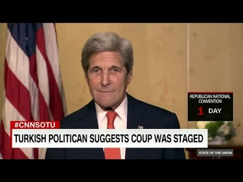 Sec. of State John Kerry on State of the Union- Full