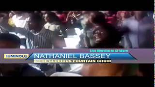 NATHANIEL BASSEY TURNS ON WORSHIP FIRE IN WARRI WITH TGFC @ THE GLORIOUS FOUNTAIN MINISTRIES
