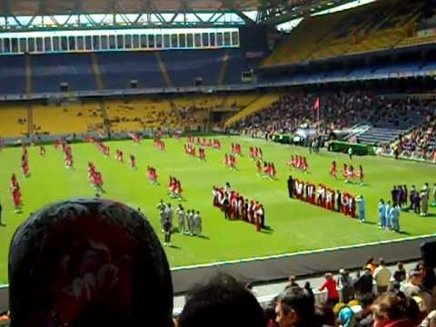 An american boys first view of turkish celebration at fenerbahce futbol stadium part 1 of 11