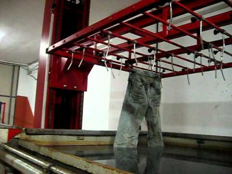 Automatic Denim Jeans Dipping Machine