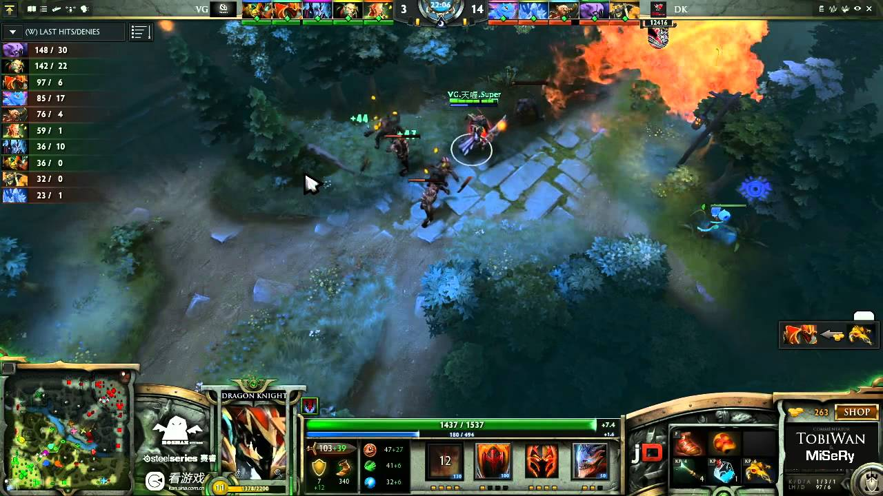 DK Vs Vici Gaming Game 3 SinaCup China Dota 2 WB Final