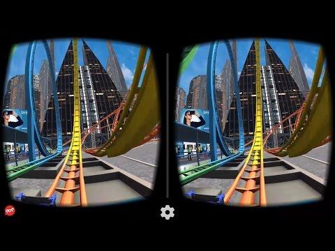 VR Roller Coaster - Best 3D SBS VR Roller Coaster for Google Cardboard
