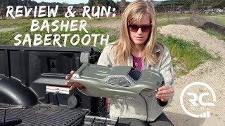 UNBOXING & RUN  |  Hobby King Basher Sabertooth 1/8 Scale Truggy