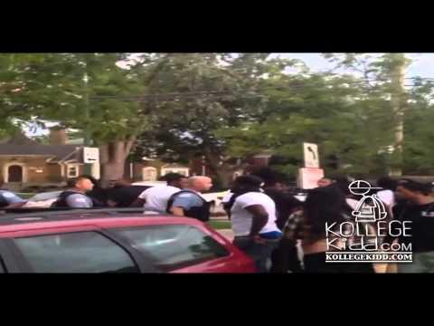 Lil Durk's OTF & King Louie's Mubu Clash At T.I.'s Meet & Greet In Chiraq | @kollegekidd