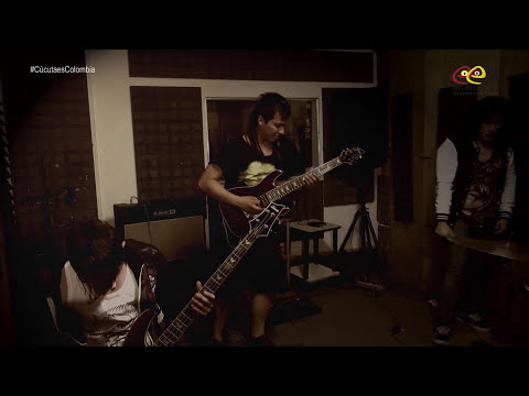 Cúcuta es Colombia,   banda de metalcore Throne of brotherhood