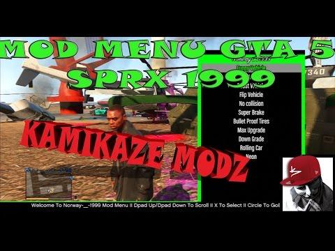 MOD MENU GTA 5 1.23/1.24 SPRX NORWAY-_-1999 CEX/DEX + UPDATE DE TEXTURAS +DOWNLOAD