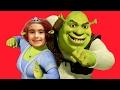 Shrek Eğlence Dünyasındayız   Eğlenceli Çocuk Videosu