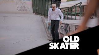 Velhinho quebra tudo no skate