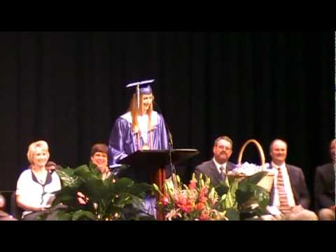 Funny graduation speech Whitney High School 2010