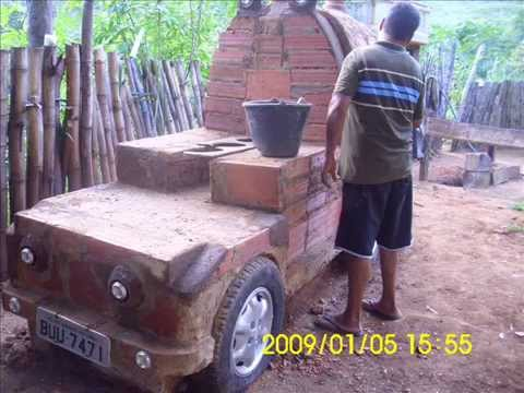 Como construir lareiras a lenha