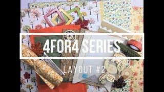 4for4 Series // Fall Round (Layout #2)