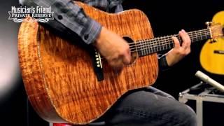 Martin Custom Koa D-41 Dreadnought Acoustic Guitar, Natural