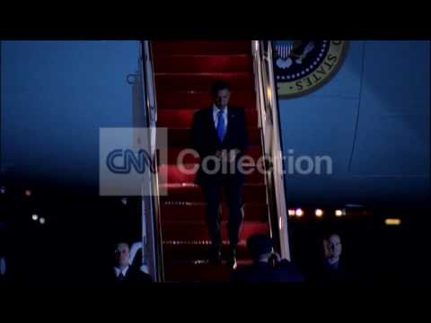 PRESIDENT OBAMA RETURNS FROM ASIA TRIP