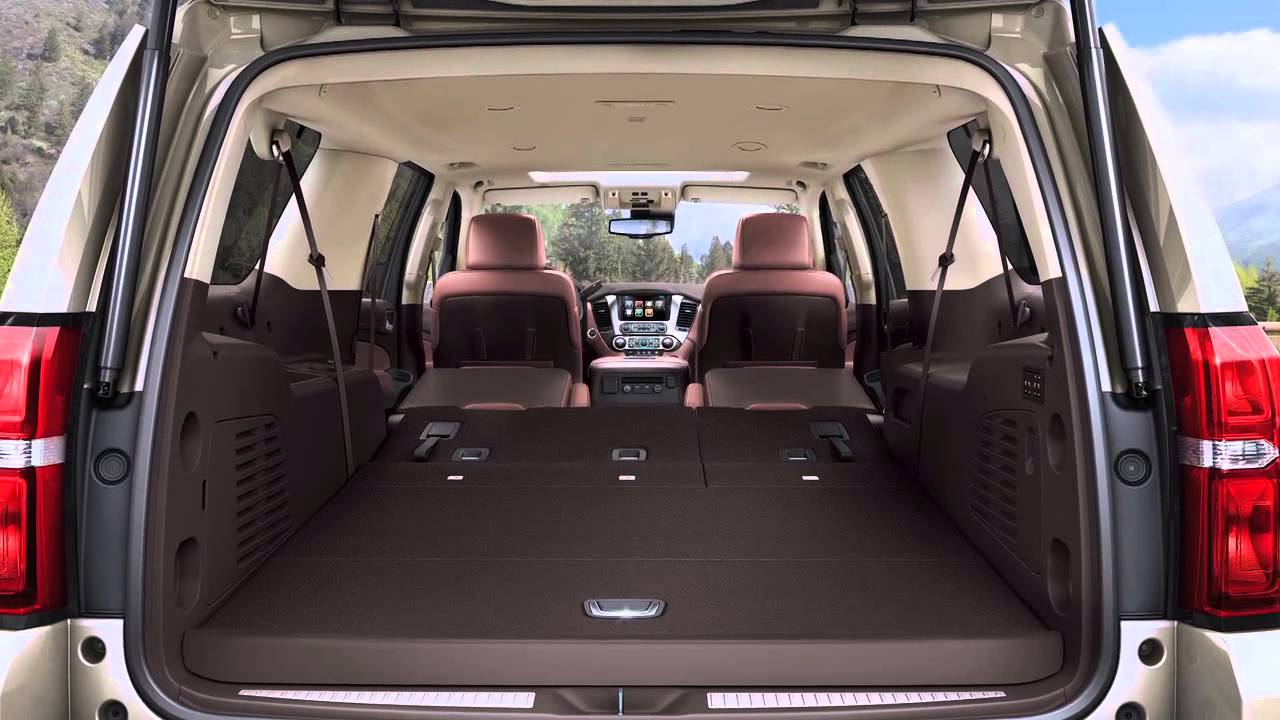 A Look Inside 2015 Chevrolet Suburban Youtube