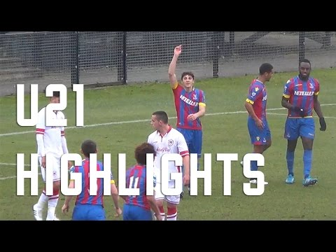 U21s Highlights - Crystal Palace 4-0 Cardiff City