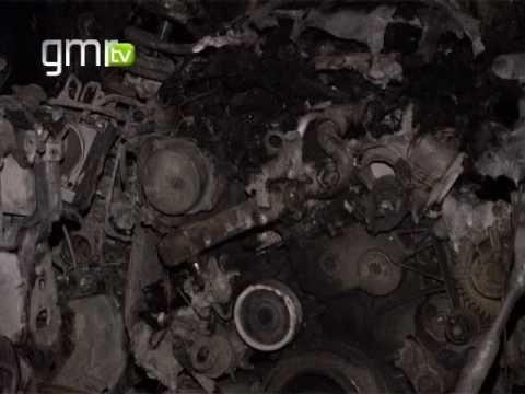 BMW incendiado em Serzedo ap�s assalto a carrinha de valores