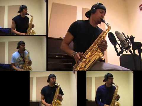 Pharrell Williams - Happy - Alto Saxophone by charlez360