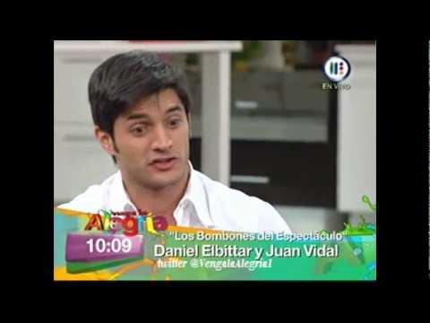 Daniel Elbittar y Juan Vidal en Venga la Alegría