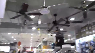 Theextremefanenthusiast viyoutube from the archives ceiling fans at ace hardware 2015 display aloadofball Choice Image