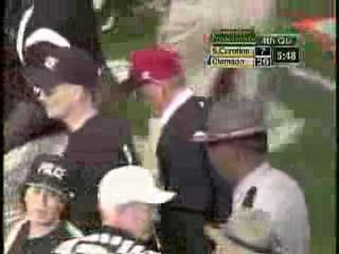 Clemson/University of South Carolina Brawl 2004