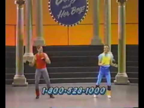 Robin Williams and Billy Crystal dancin' in Comic Relief