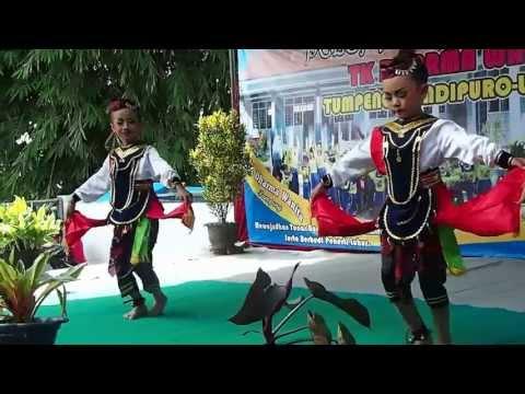 Tari Remo Perpisahan Tk Darma Wanita Tumpeng video