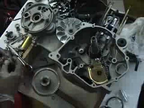 Building a Scooter Engine from Scratch CN 250 Honda Clone - YouTube