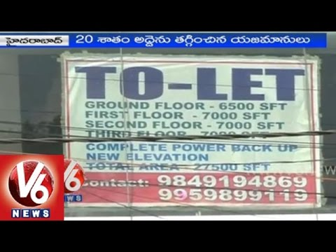 Hyderabad real estate gets down with state bifurcation