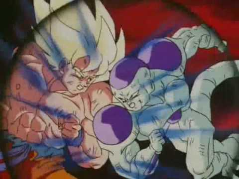 Dragon Ball Z Goku Vs Freeza video