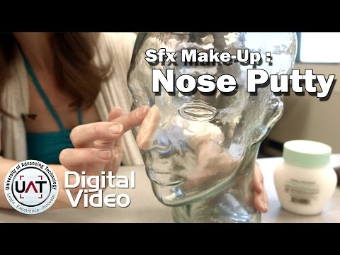 Applying Nose Putty