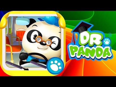 Доктор Панда водитель автобуса - Развивающие мультики. Dr  Panda's Bus Driver