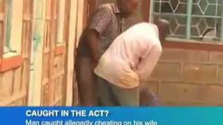 Kenyan man cheats on Wife then beats her