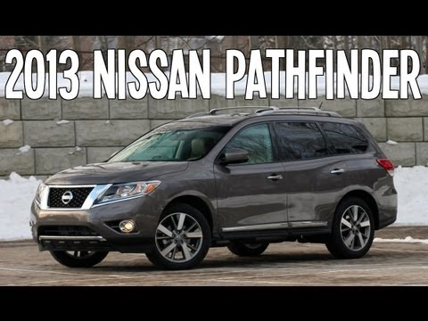 2013 NISSAN PATHFINDER REVIEW ENGINE START UP INTERIOR